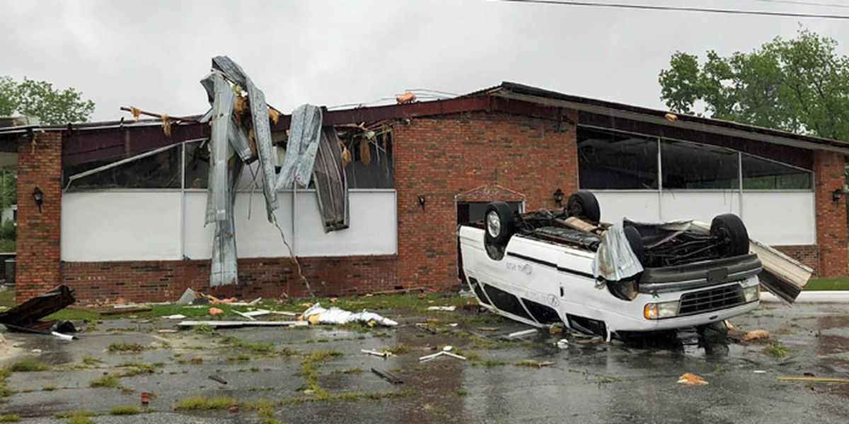 Damage reported across SWGA as possible tornadoes pass through