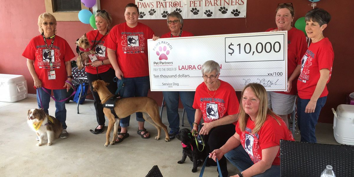 ASU student presented with $10K check to get service dog trained