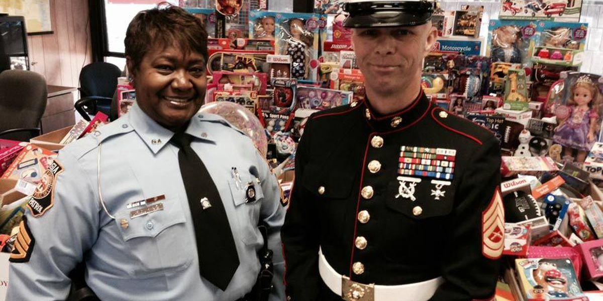 Georgia State Patrol post delivers 1,000+ gifts to Toys for Tots