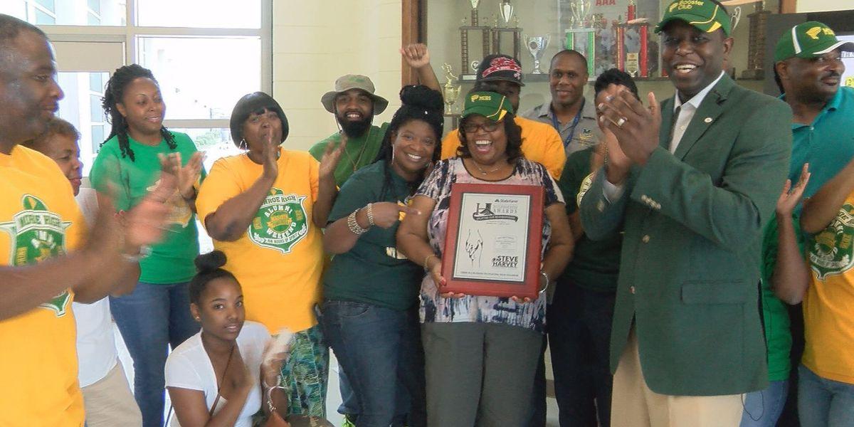 Monroe High School and alumni celebrate national award
