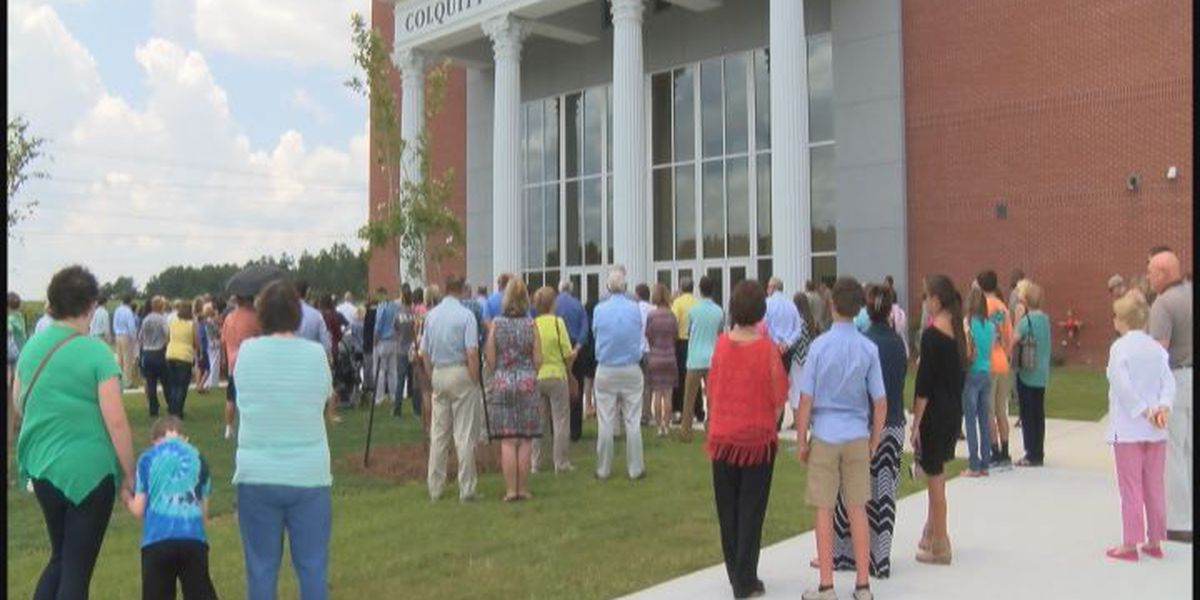 Colquitt County High School celebrates new building