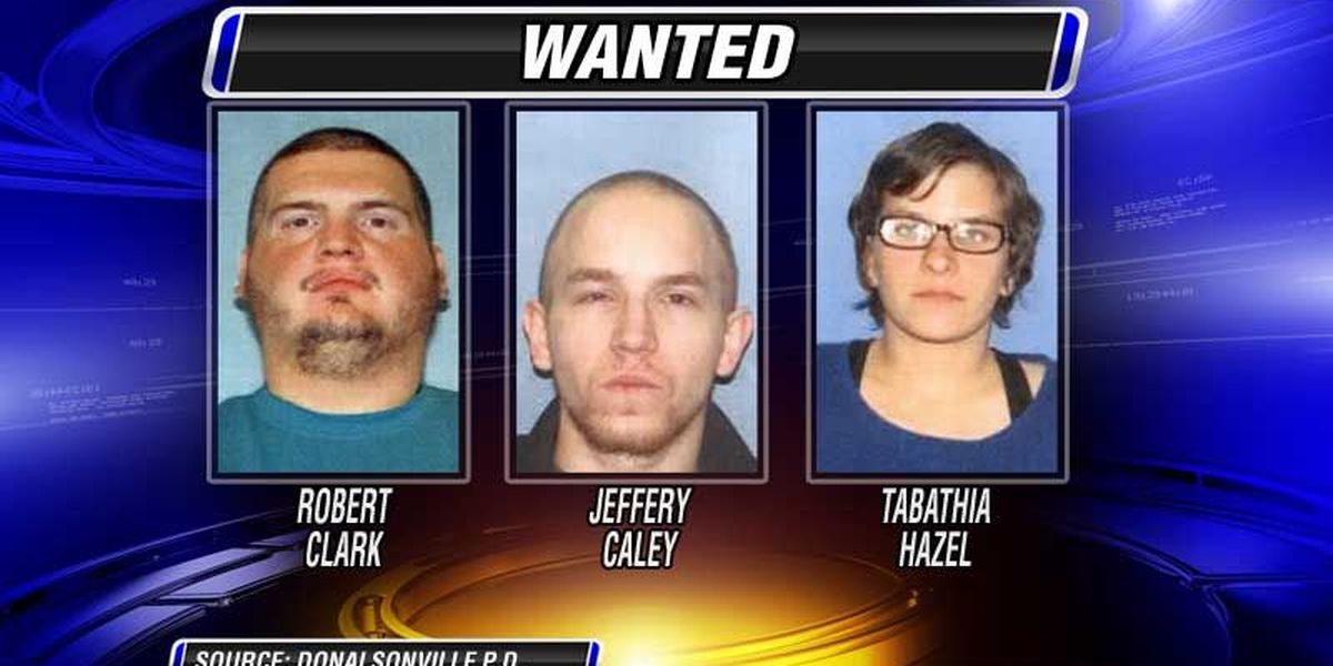 Ohio trio wanted in Donalsonville armed robbery