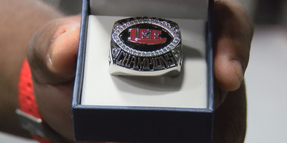 LCHS receives state championship rings on Trojan Nation Day