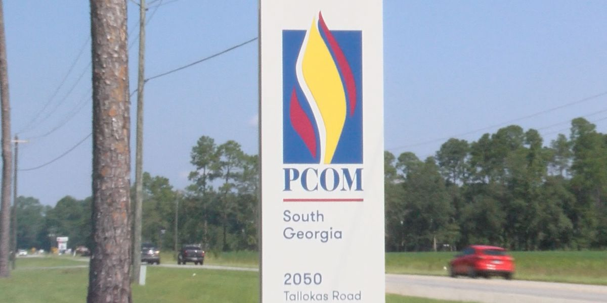 PCOM South GA club provides students with school supplies