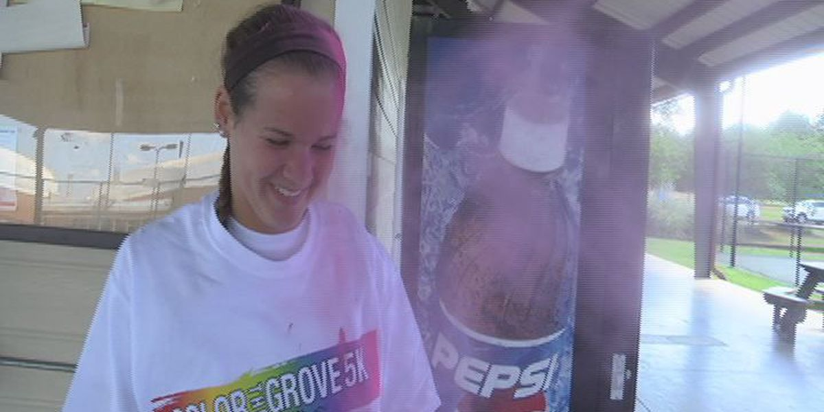 Runners lace up for trail of colors