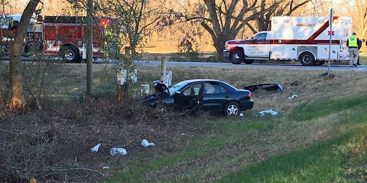 Moultrie Road blocked by collision