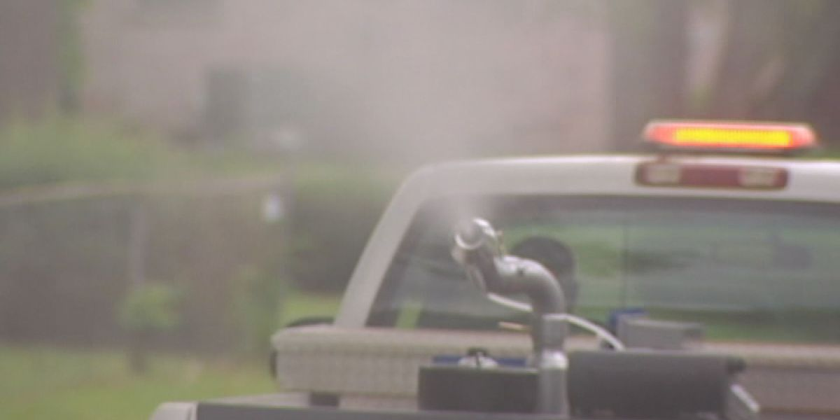 Dougherty Co. public works crews spray for mosquitoes