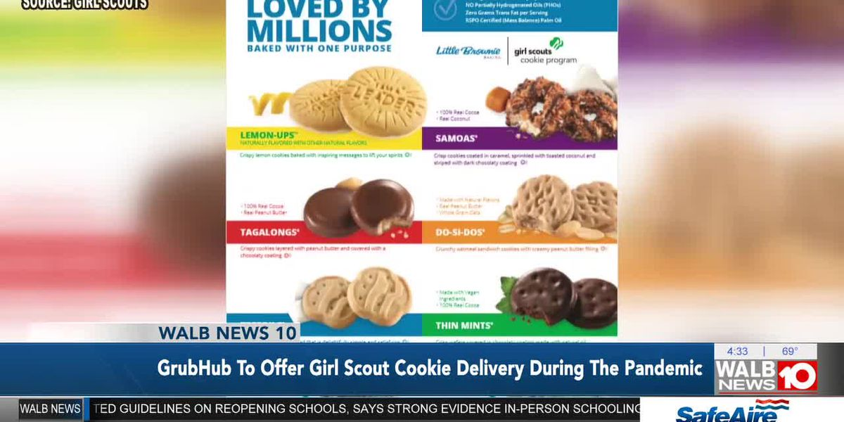 The Breakdown: GrubHub to offer Girl Scout Cookie Delivery during the Pandemic