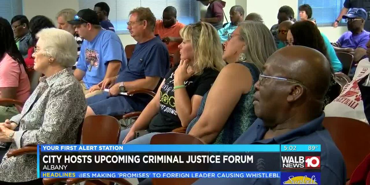 City of Albany to host criminal justice forum