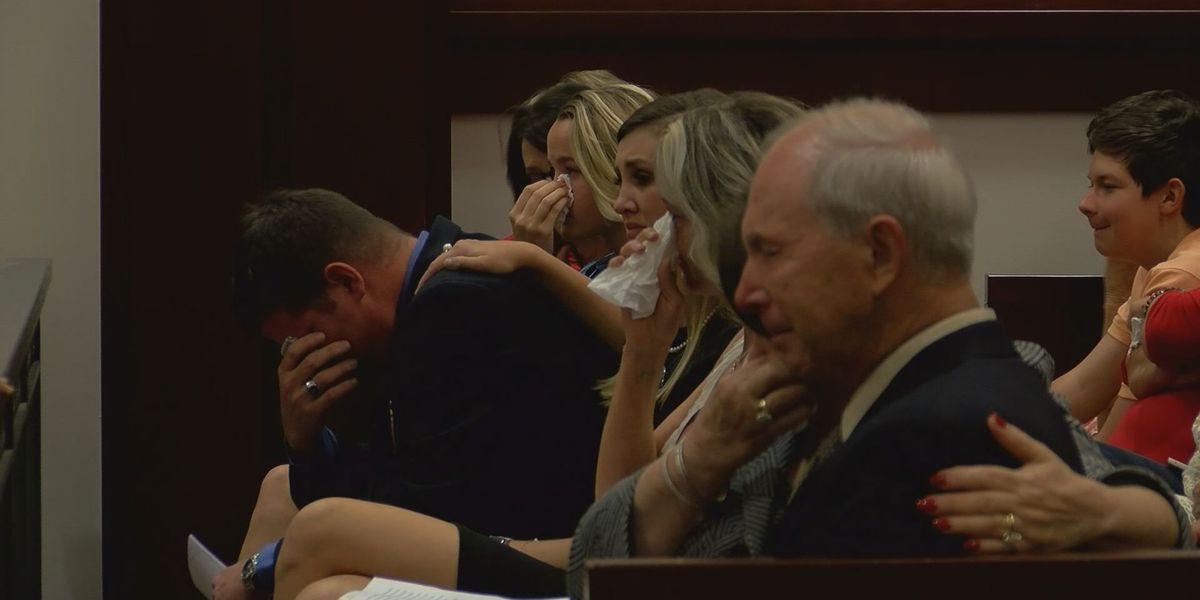 Courtroom heavy with emotion in drunk driver sentencing