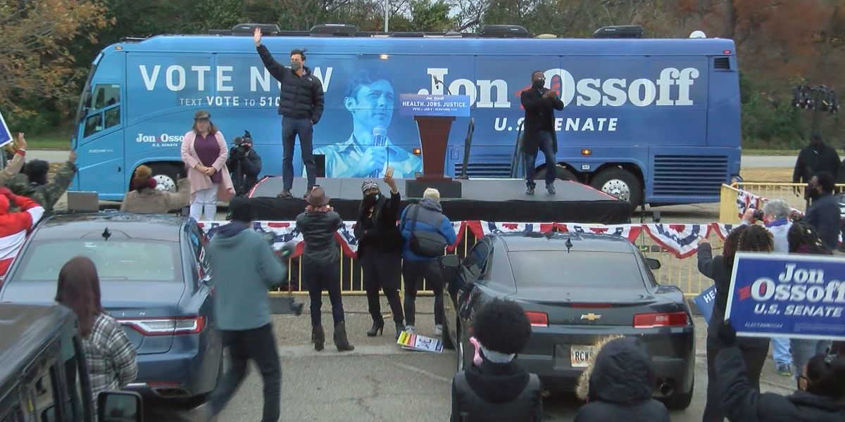 Jon Ossoff makes another campaign stop in the Good Life City