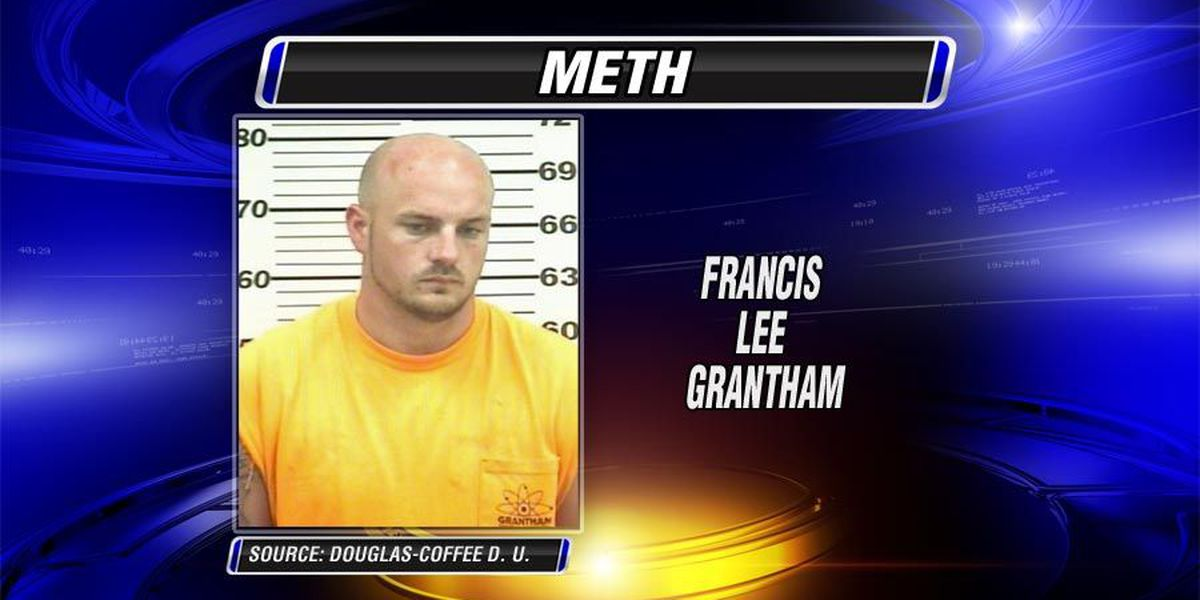 Meth-toting man runs from the law; leaves ID behind