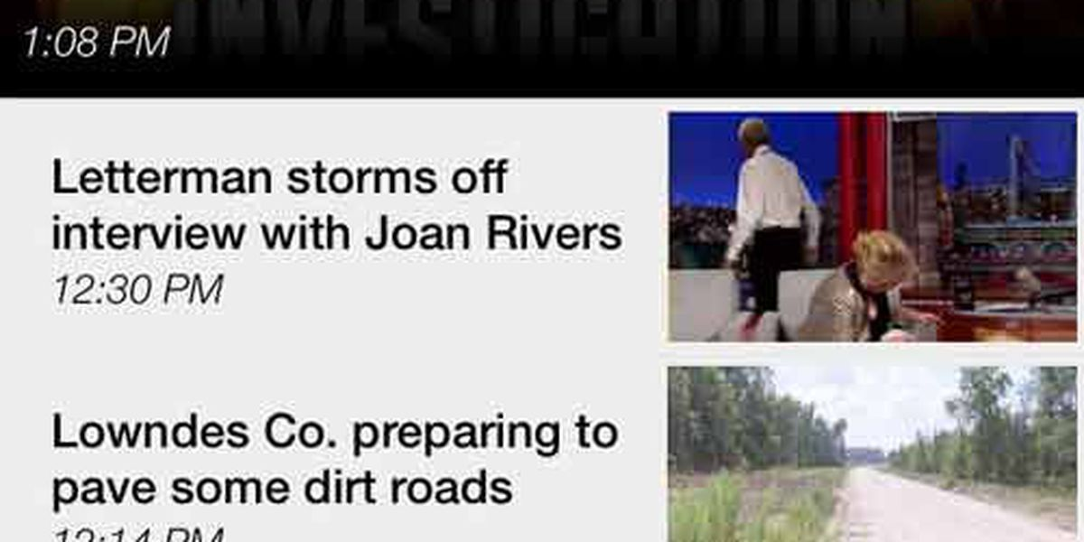 Attention users of WALB News 10 Mobile APP