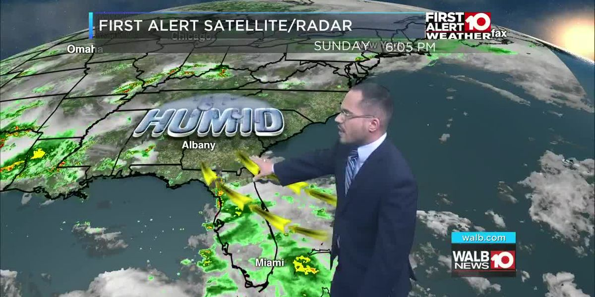 First Alert Forecast Sunday evening