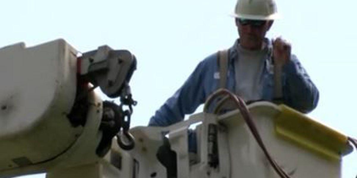Thomasville power crews work long hours to get power restored