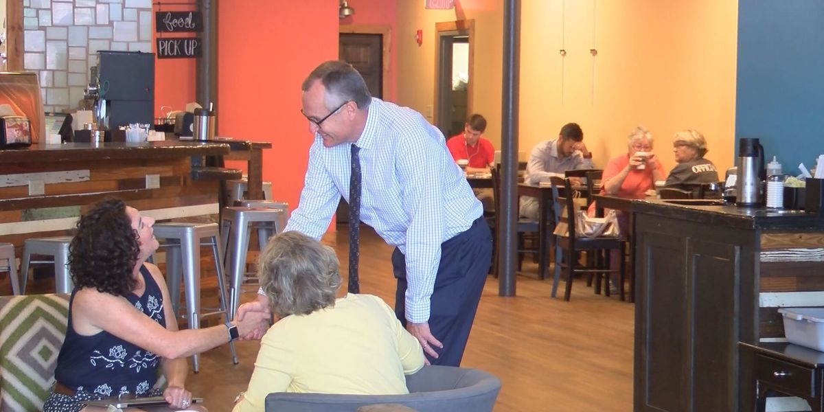 Lt. Governor Casey Cagle visits Downtown Thomasvile
