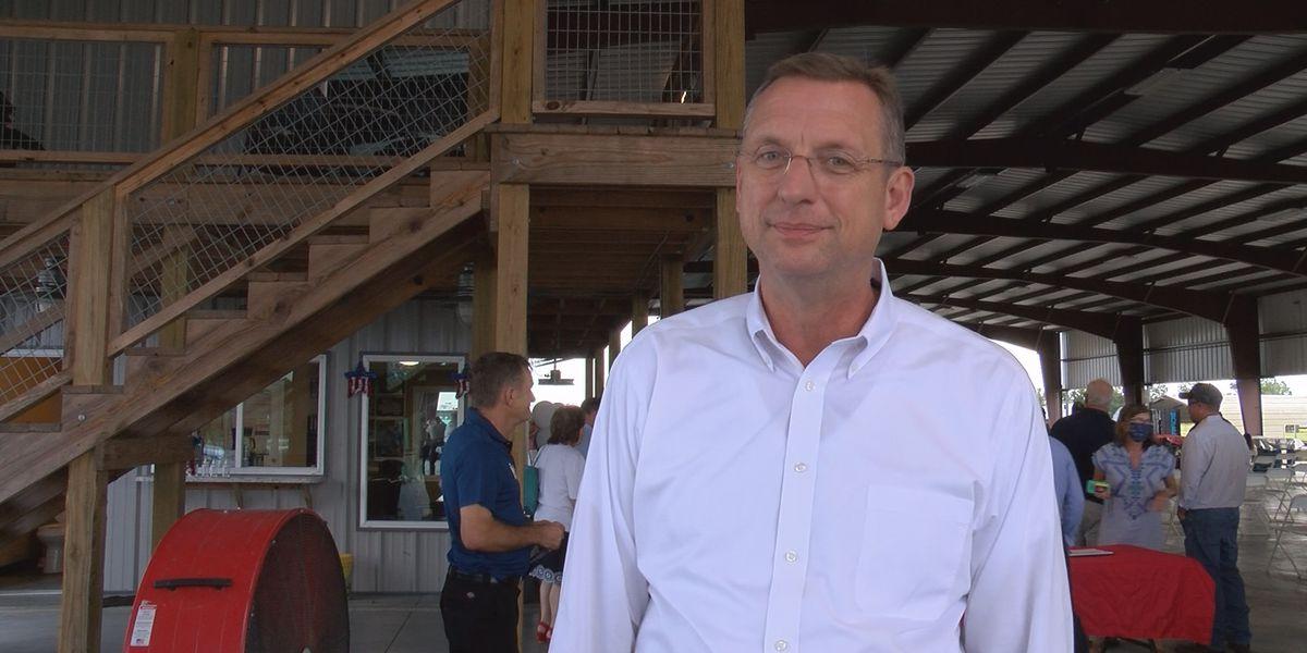 Candidate for U.S. Senate Doug Collins hosts meet and greet in Pelham
