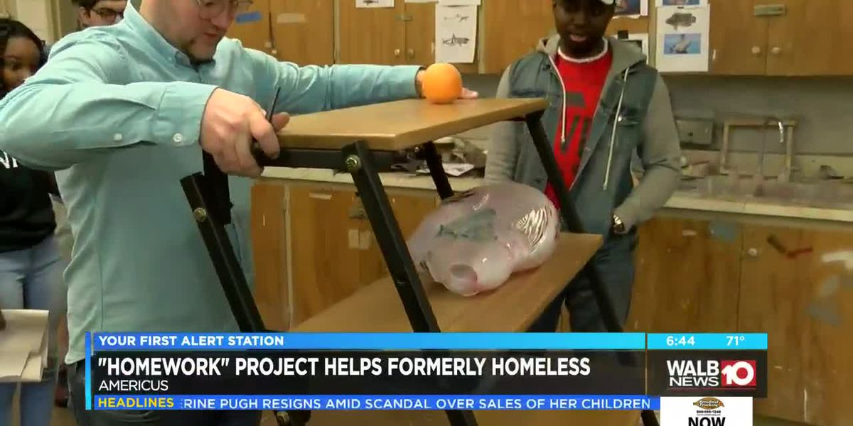 'Homework' project helps formerly homeless