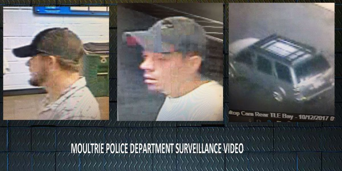 Moultrie Police hunt for brazen thieves
