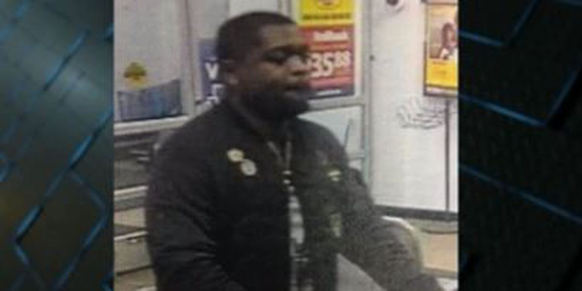 Thomasville PD search for suspect in Walmart theft