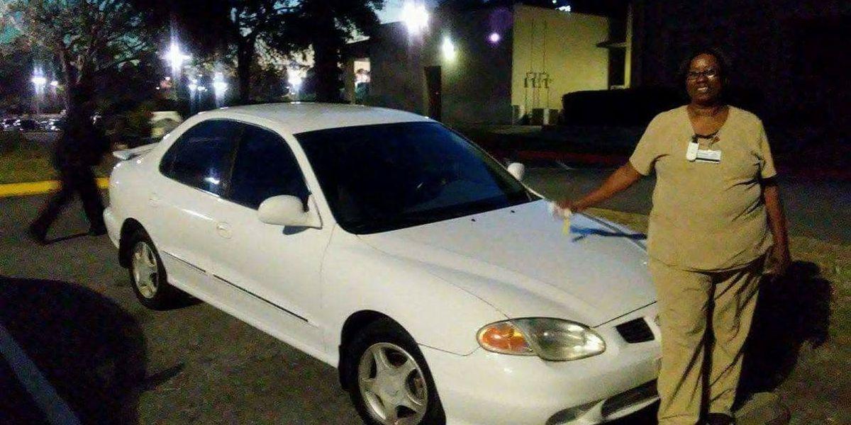 Good Samaritan buys car for storm victim