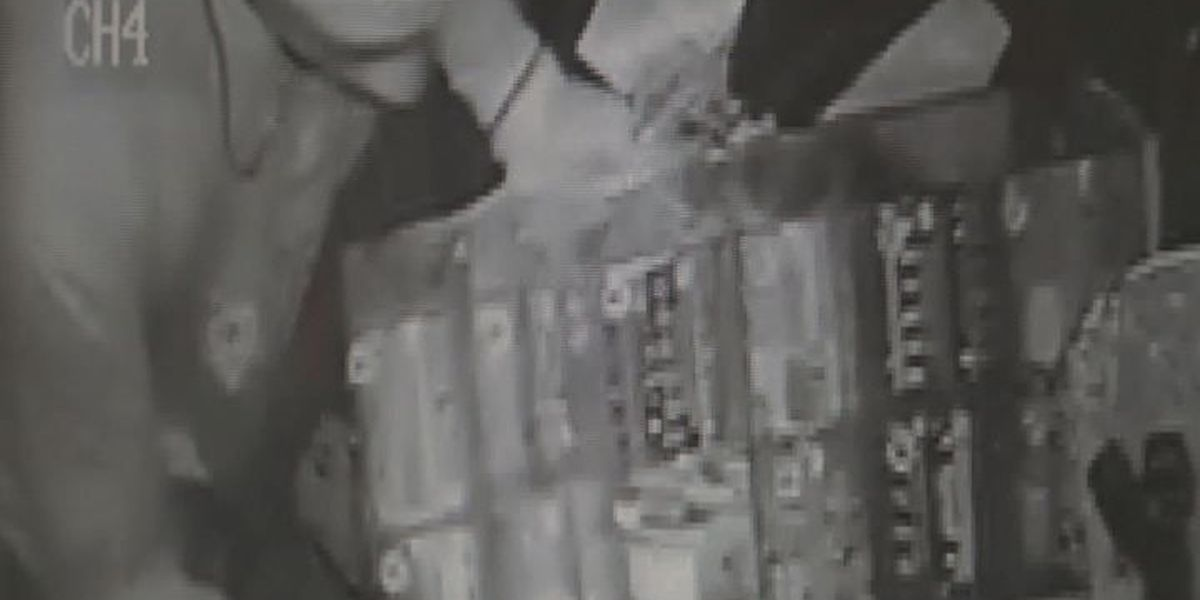 Smash and grab criminal wanted in Mitchell Co.