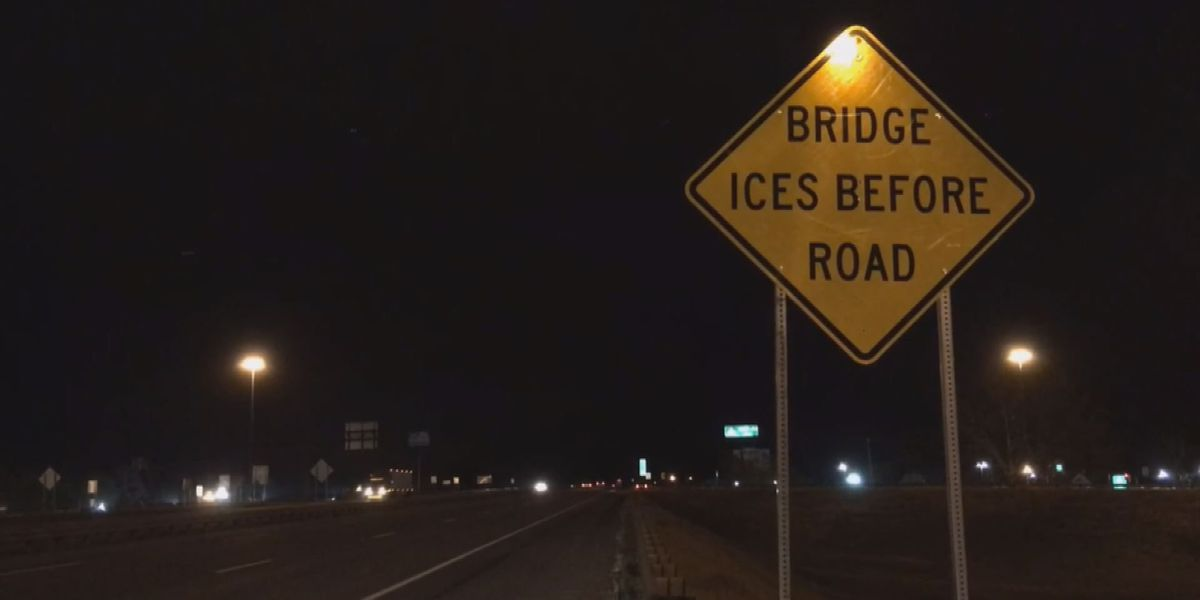 Lowndes residents commute through black ice
