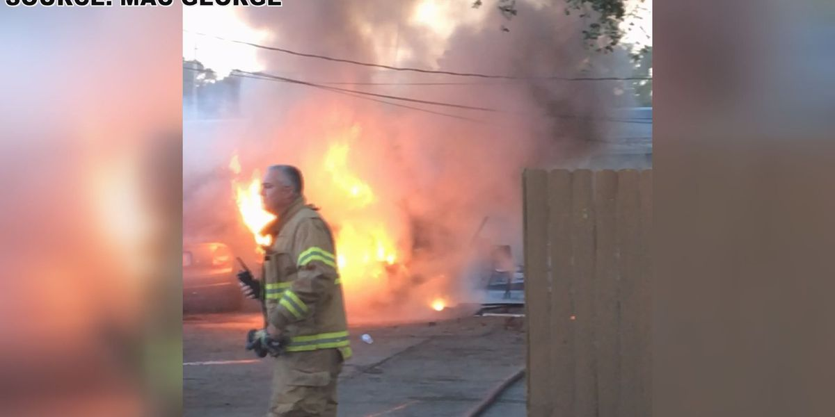 Vehicle, fence damaged in fire at Albany business