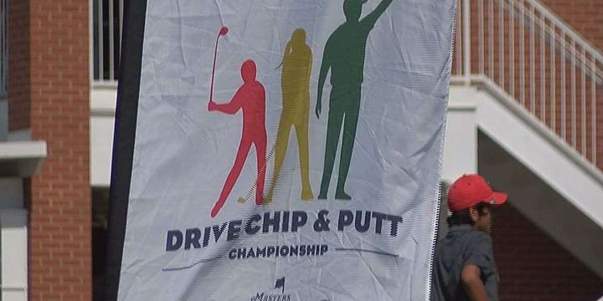 Young golfers show skills at Drive, Chip, and Putt