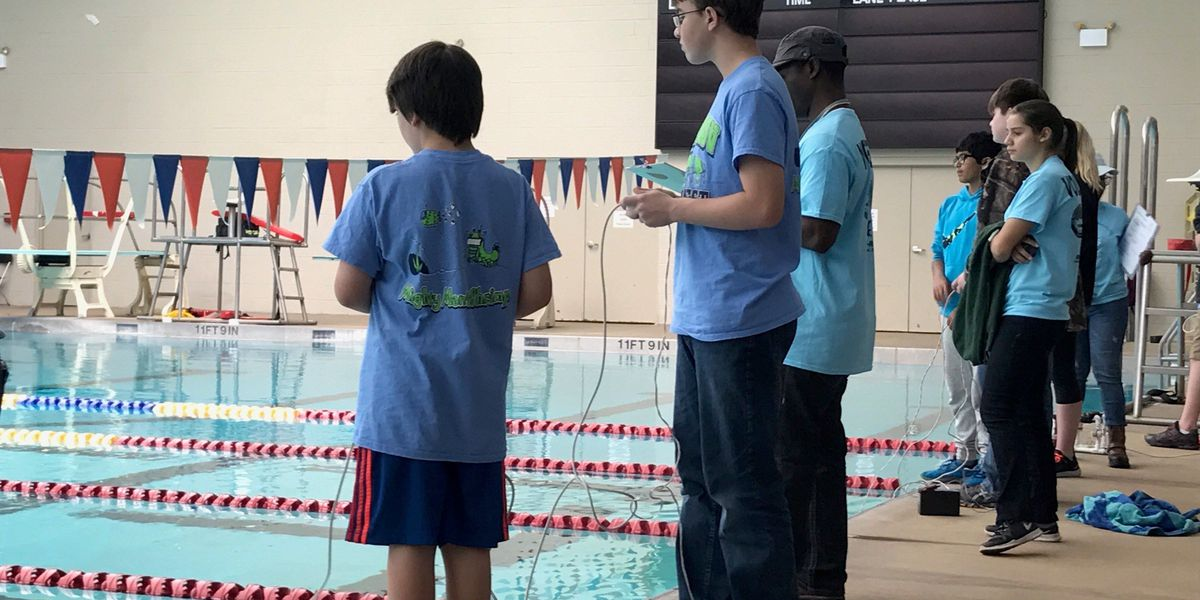 Lee Co. students place 3rd in underwater robotics competition