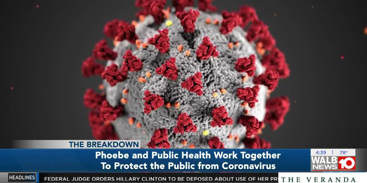 Phoebe and Public Health work together to protect the public from coronavirus