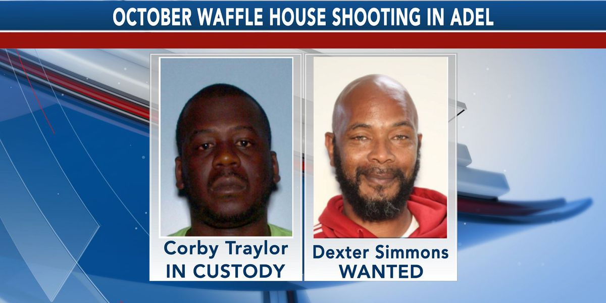 1 in custody, 1 still wanted in Adel Waffle House shooting