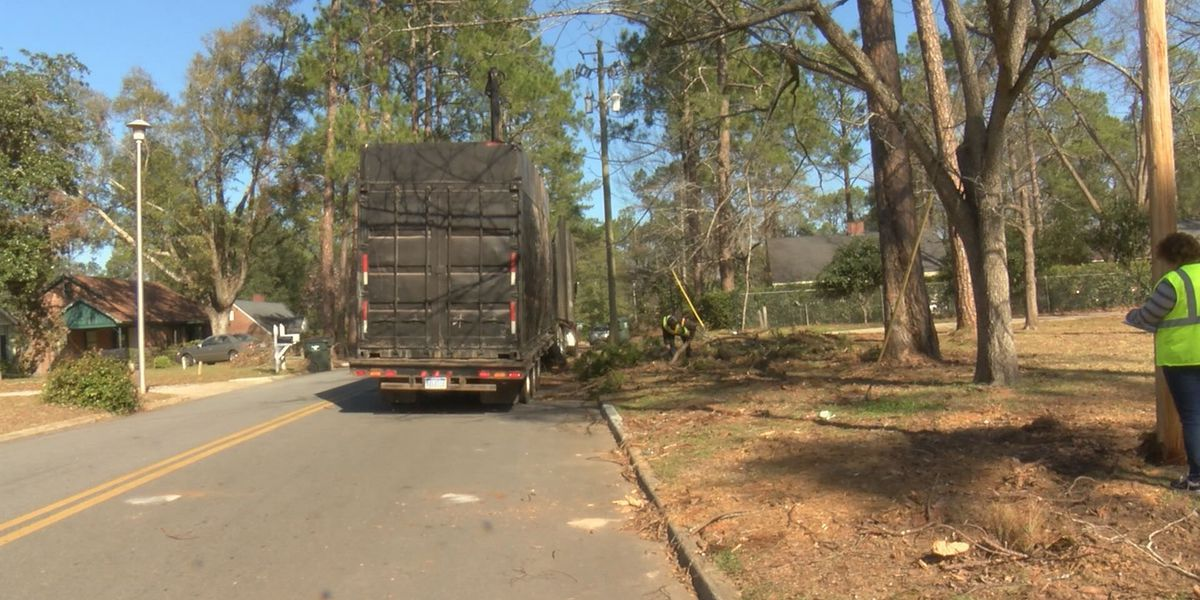 Crews making progress with debris cleanup after first round of storms