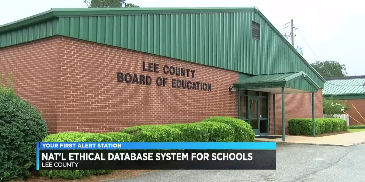 Lee Co. Schools to get ethical database system