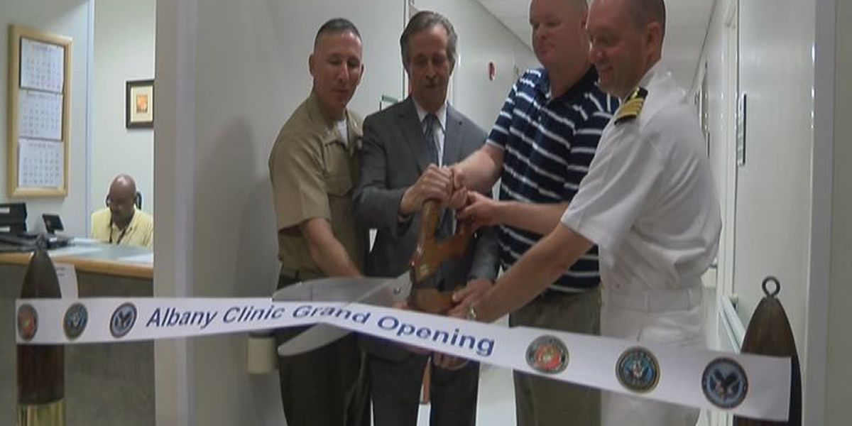 Veteran's health services officially open at MCLB Albany