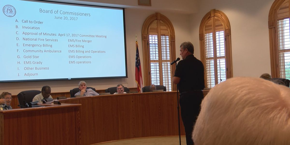 Thomas Co. commissioners still considering options to lower EMS costs