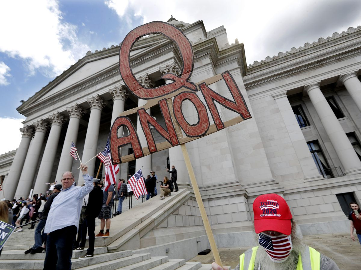 QAnon uses anti-human-trafficking hashtags, campaign to promote conspiracy theories