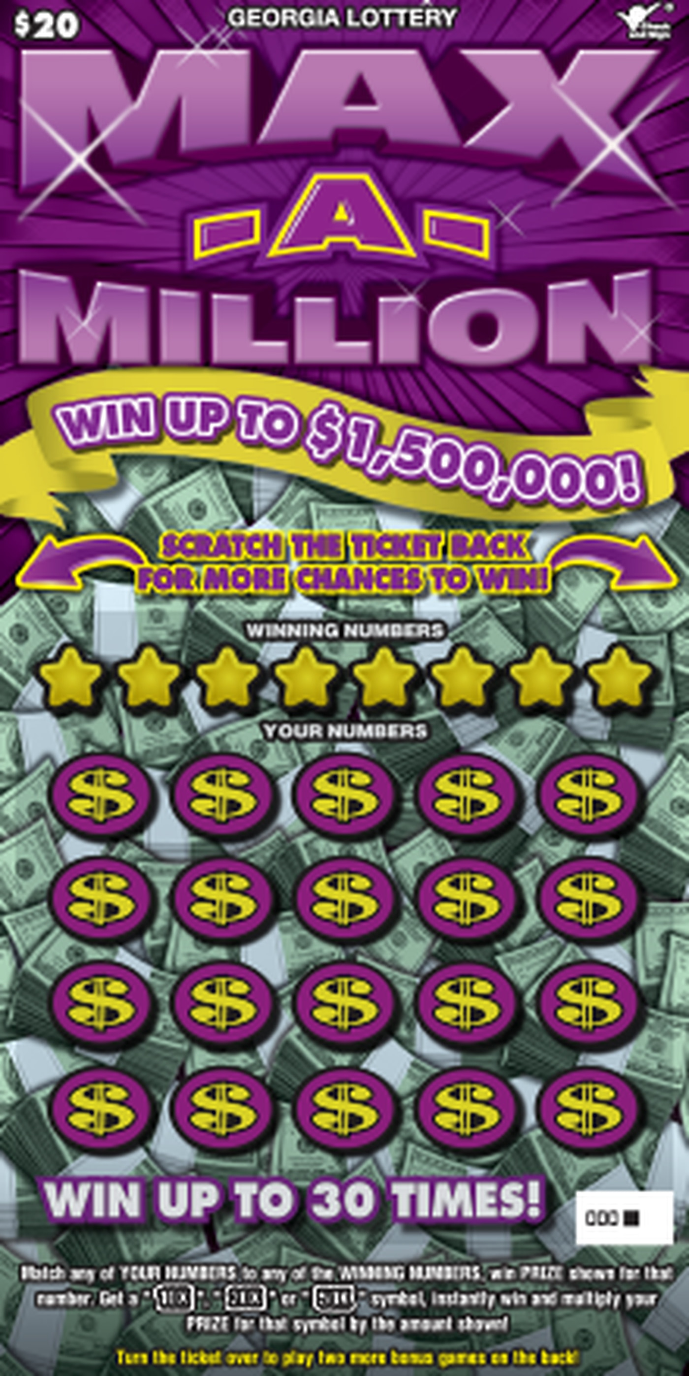 $1 5M scratch-off ticket sold in Americus