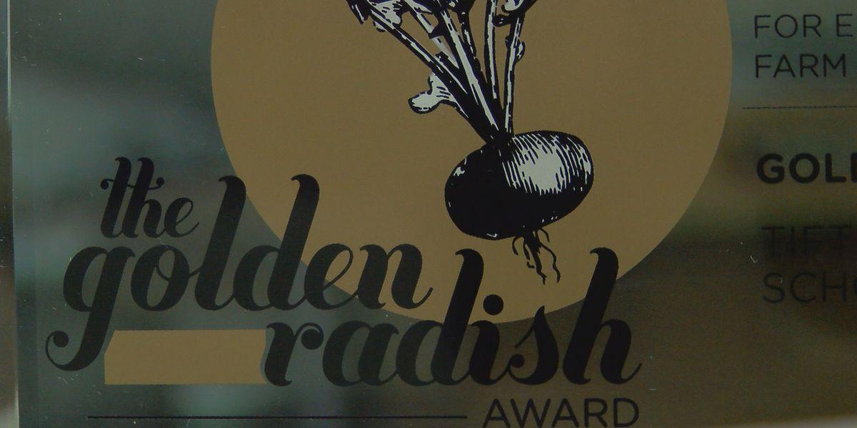 Tift Co. Schools earns Golden Radish Award