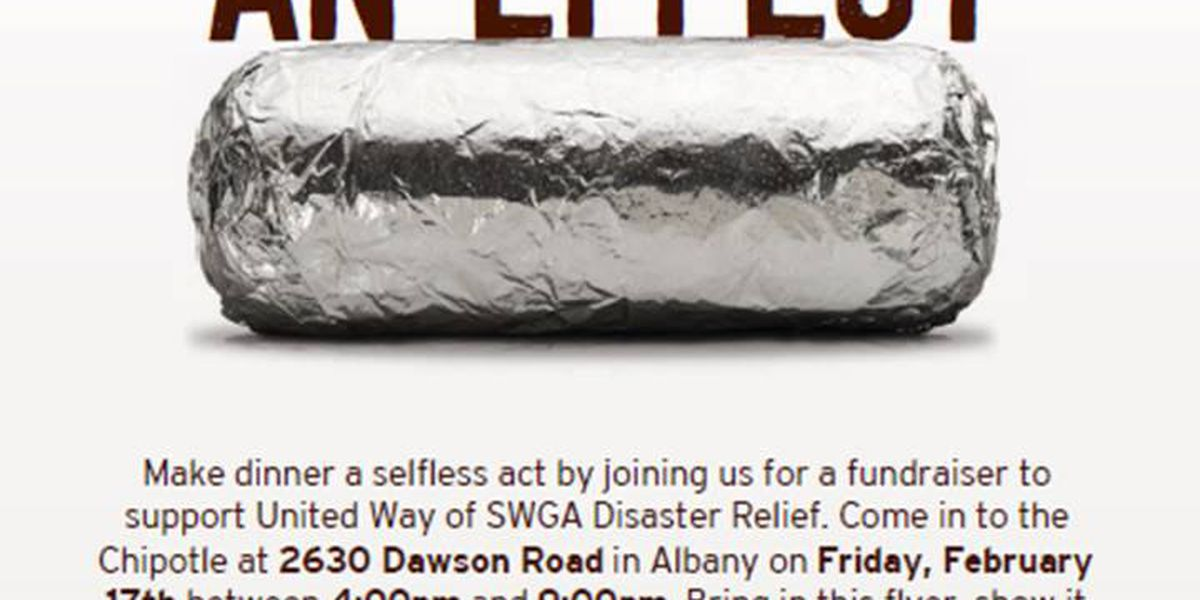 Albany Chipotle 'Causes an Effect' by donating proceeds to SWGA