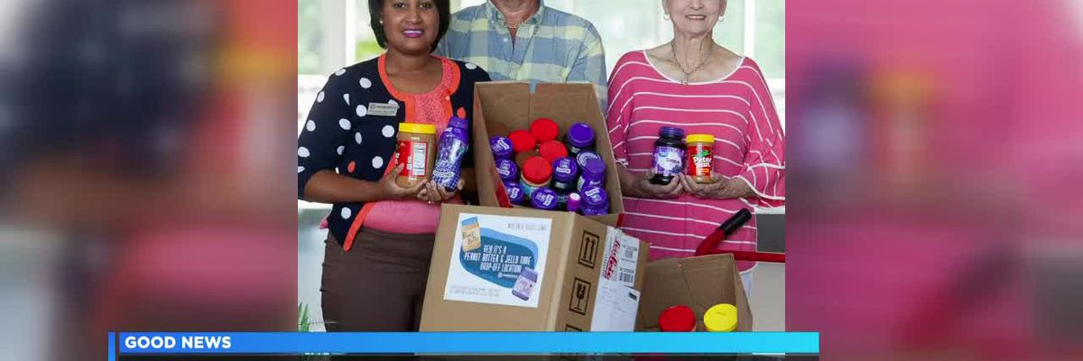 Good News: Students at SRTC help local food bank with 'Peanut Butter & Jelly Time'