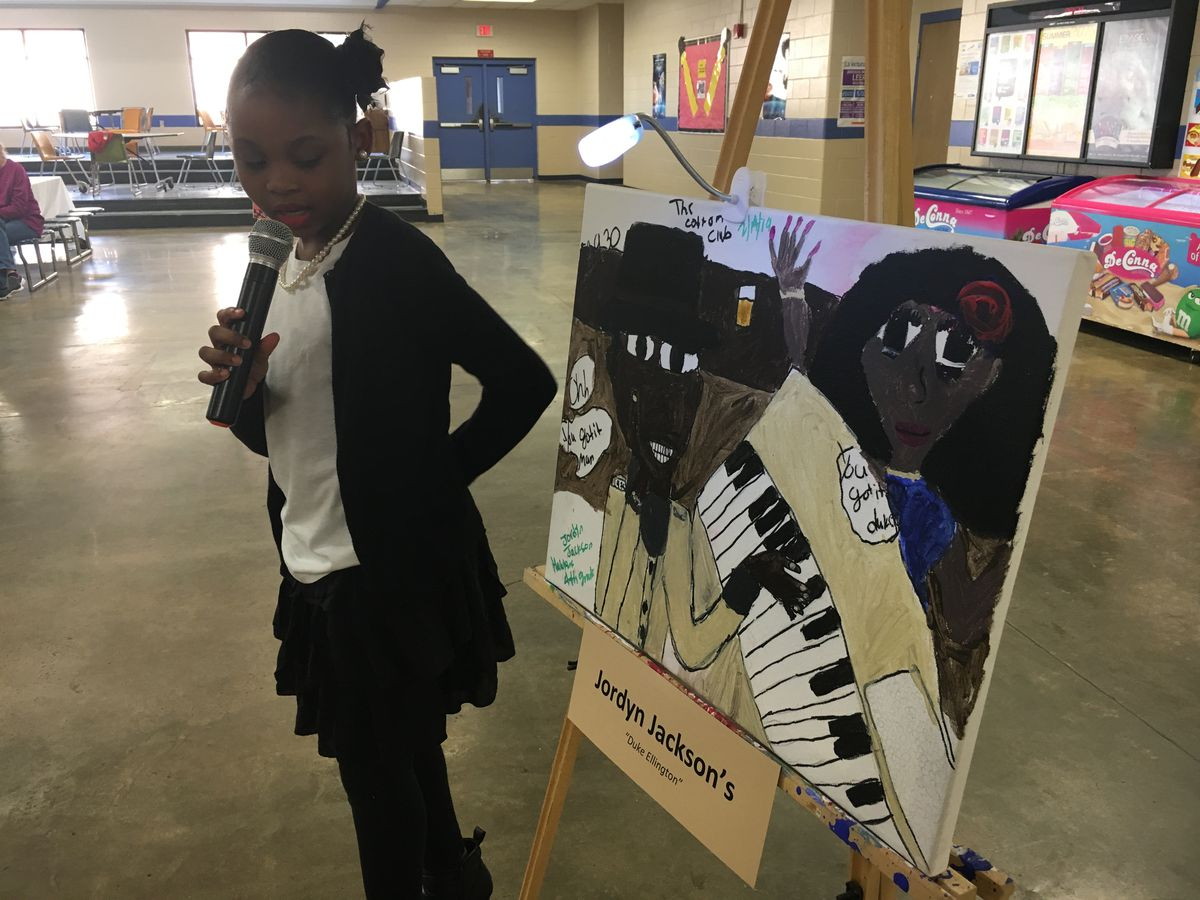 Competition inspires Sumter Co. students to learn about black history