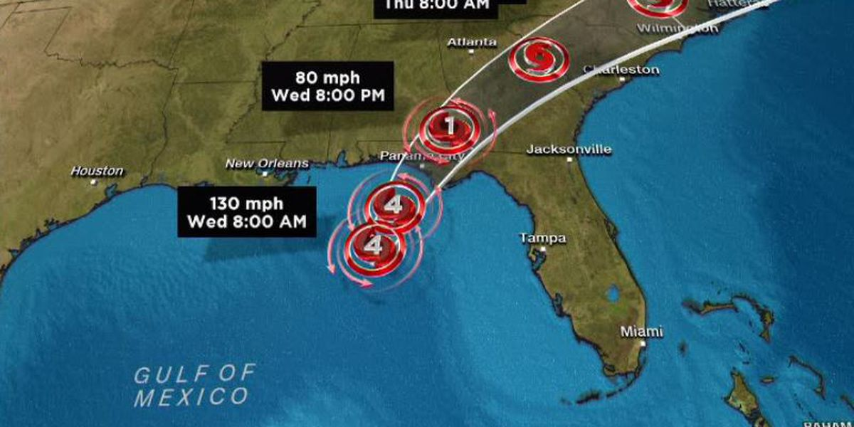 Hurricane Michael by the numbers: Over 900000 homes, businesses without power