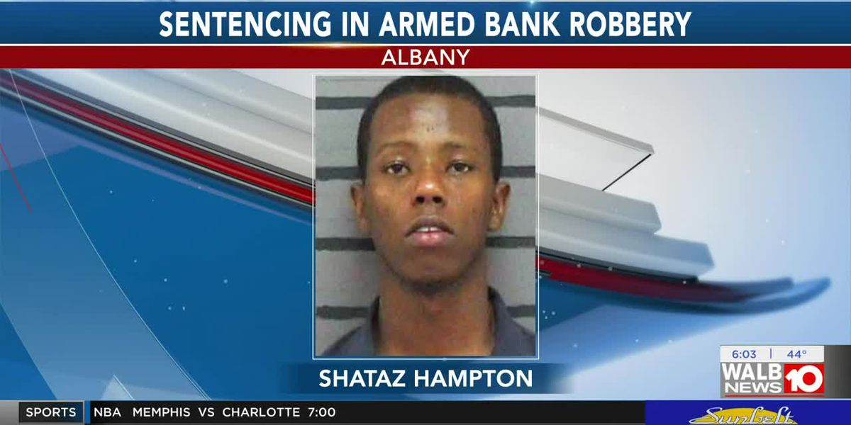 Suspect in 2017 Albany bank robbery sentenced
