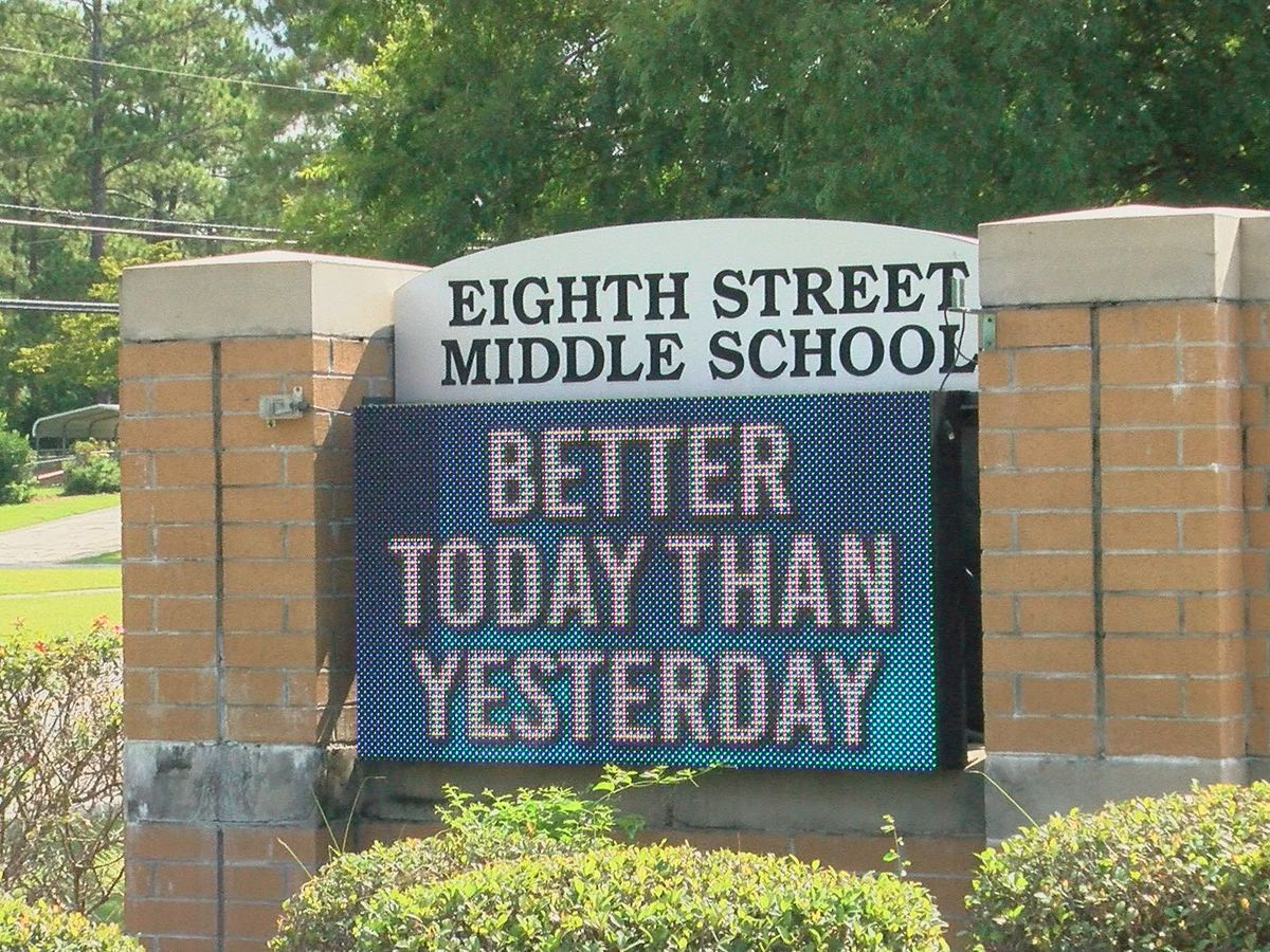 Eighth Street Middle School students get back into the groove of school