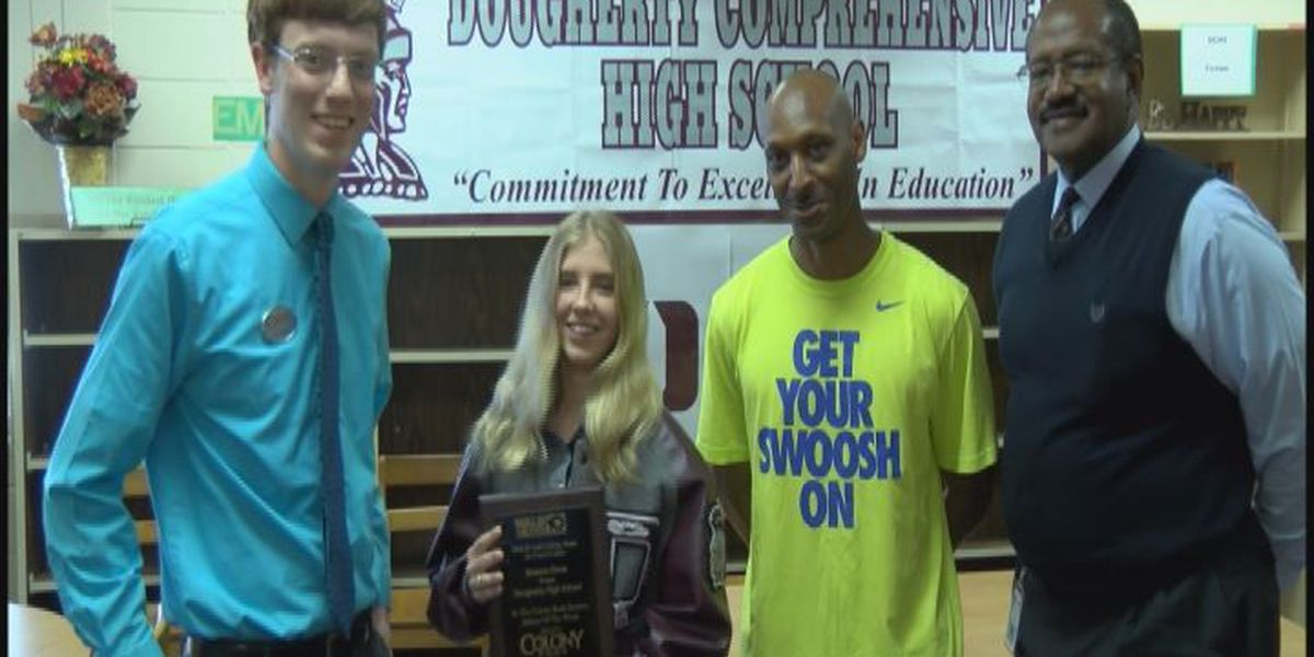 WALB STUDENT-ATHLETE OF THE WEEK (4/23/15): Dougherty's Brianna Davis
