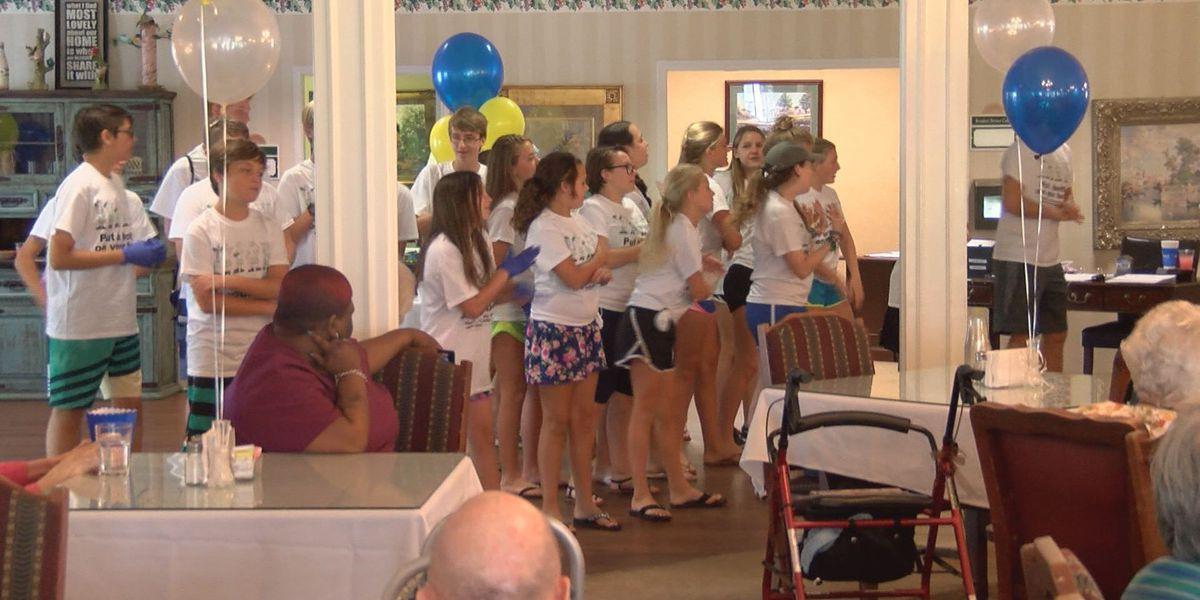 Kids from Jacksonville visit Phoebe Senior Living