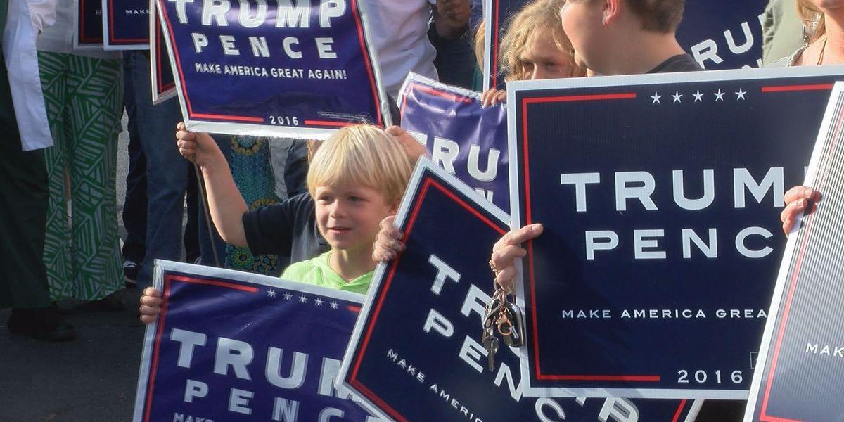 Trump Bus makes its way through south GA