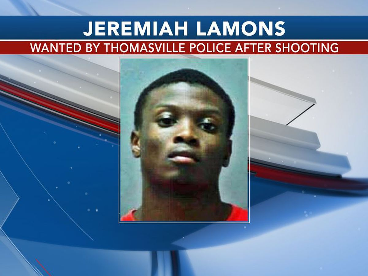 Thomasville police search for armed and dangerous suspect after shooting