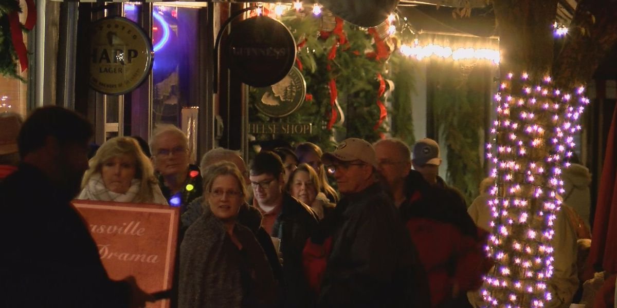 Thomasville kicks off Christmas in Victorian style